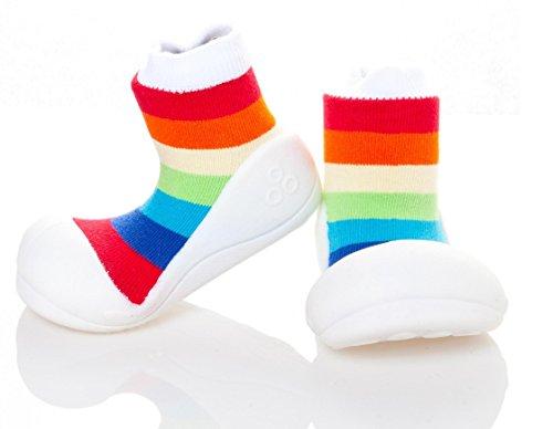 Attipas Brancos Sapatos E Meninos Arco íris Meninas Multicoloridos Ue 20 Ar03 Walker rArx6Hwq