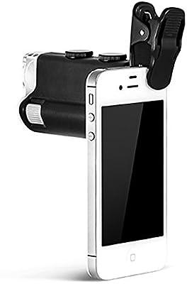 Konus # 3710 Microscopio de bolsillo para smartphone, zoom 60 x ...