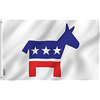 Amazon New 3x5 Democratic Party Flag Political Democrat Flags