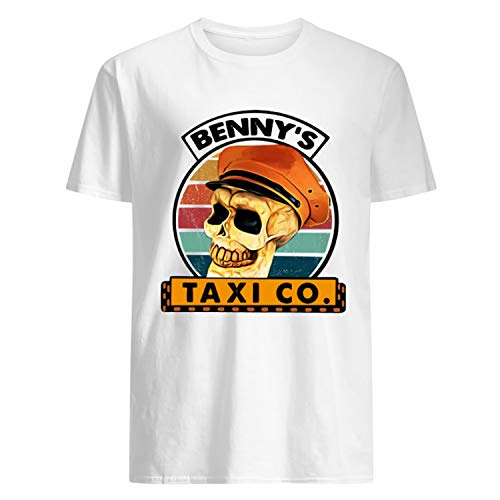 Debbie Reynolds Halloweentown (TeePily Benny's Taxi Co Vintage Cab Driver Shirt)