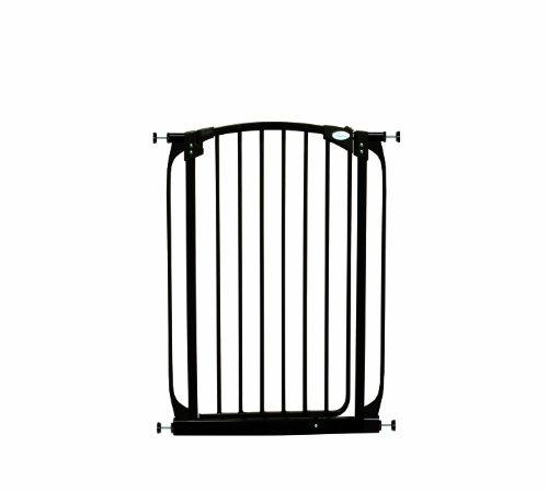 pet gate in black