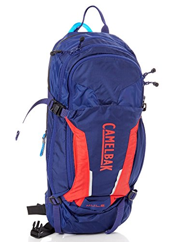 CamelBak M.U.L.E. 100 oz Hydration Pack, Pitch Blue/Racing Red by CamelBak (Image #9)