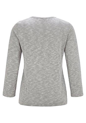 Rabe - Camiseta - manga 3/4 - para mujer gris