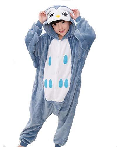 Tonwhar Costumes for Children Kids Cuddly Onesie Pajamas
