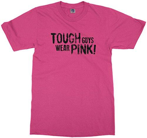 - Threadrock Big Boys' Tough Guys Wear Pink Youth T-Shirt XS Fuchsia