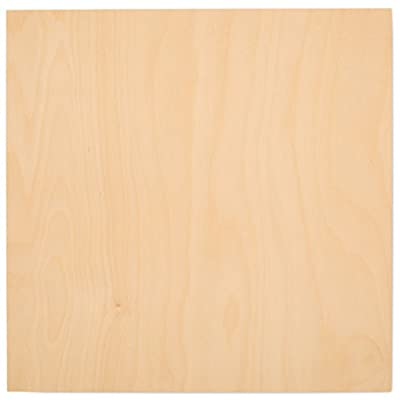 "5 mm 1/4"" X 12"" X 12"" Premium Baltic Birch Plywood – B/BB Grade - Flat Sheets By Woodpeckers"