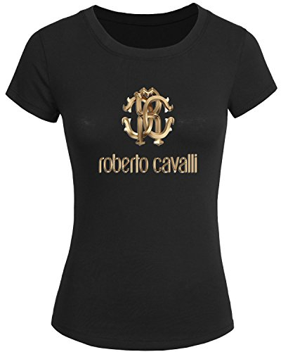 roberto-cavalli-logo-for-2016-womens-printed-short-sleeve-tops-t-shirts