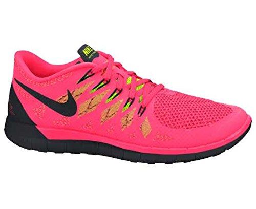 Nike Free 5.0 642.198 Unisex Loopschoenen Roze / Zwart