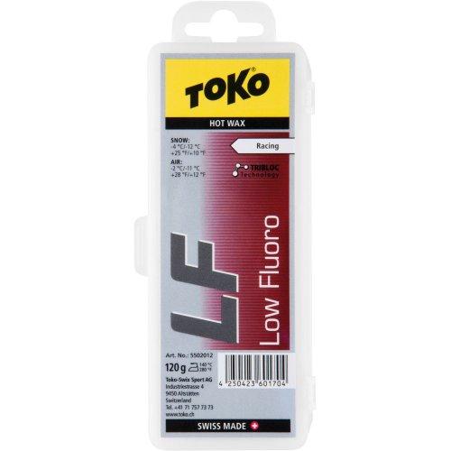 TOKO(トコ)スノーボードスキー用ワックスホットワックスLFフッ素配合レッド120g5502012