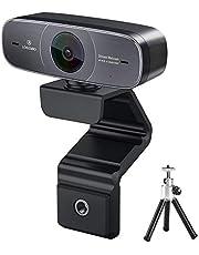 Logitubo HD 1080P Webcam, automatique HDR PC Caméra pour streaming chat Vidéo et enregistrement, USB web cam avec microphone pour Windows Mac Xbox One OBS