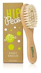 Hip Peas Wooden Baby Brush