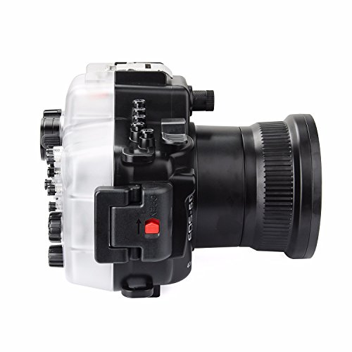SeaFrogs 40M 130ft Diving Waterproof Housing Case for Canon 5D III IV 5D3 5D4 Supports 24-105mm Lens by SeaFrogs (Image #5)