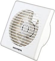 Microventilador/Exaustor para Banheiro, Branco, 150mm, 127v, Ventisol