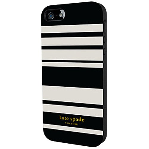 Kate Spade New York Flexible HardShell Case for Apple iPhone 5/5S (Fairmont Stri