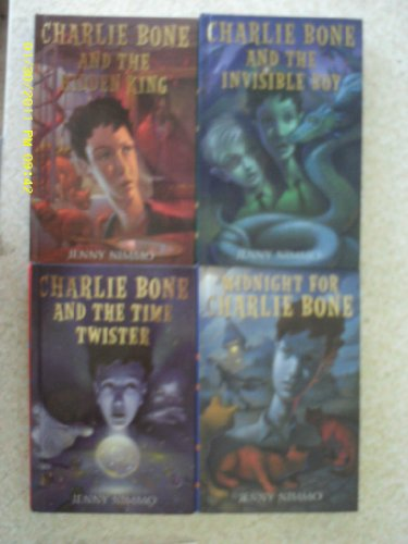 Charlie Bone Series #1-5 Children of the Red King, (Midnight for Charlie Bone, Charlie Bone and the Time Twister, Charlie Bone and the Invisible Boy, Charlie Bone & the Castle of Mirrors, Charlie Bone and the Hidden King (Charlie Bone And The Castle Of Mirrors)
