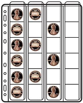 SVAR busta per monete 4x4 venere confezione 10 pezzi 24 posti 28610206 borsetta
