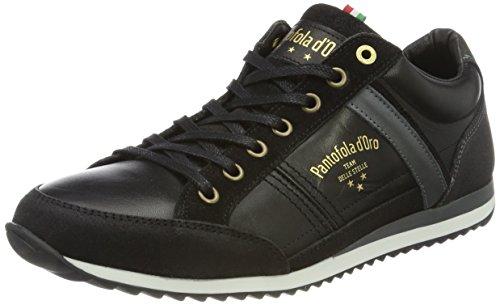Pantofola d'Oro Herren Matera Uomo Low Sneaker, Schwarz (Black)