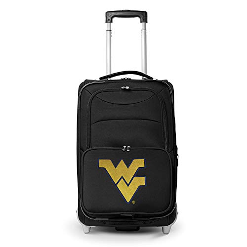 Denco NCAA West Virginia Mountaineers 21-inch Carry-On Luggage