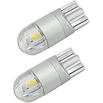 UltraVision SMD T10 501 W5W Sidelight Bulbs , 12 V, 8 W, Pack of 2 – FREE 12 Month Warranty (9 SMD)