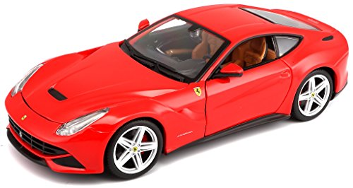 Bburago 1:24 Scale Ferrari Race and Play F12 Berlinetta Diecast Vehicle (Colors May Vary) (Scale Model Ferrari)