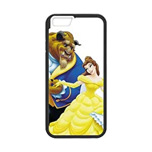 Derecho consuetudinario Beauty And The Beast – Carcasa iphone 6, Slicoo – Funda de Protección y cuchillos de TPU iPhone 6 coque-couche – Carcasa Case para iPhone 6 (4,7 pulgadas)