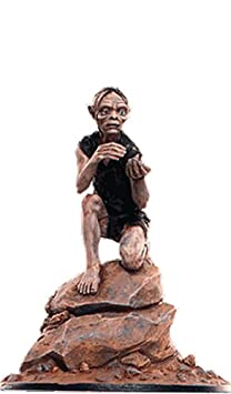 Statue von Blei Lord of the Rings Collection Nº 95 Gollum In The Misty Mountains Caves