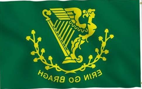 - Kaputar 3X5 Erin GO Bragh Flag Irish Braugh Ireland EIRE F129 | Model FLG - 6699