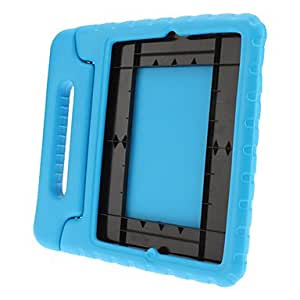 Solid Color Portable Protective Hard Case with Stand for iPad 2/3/4 (Assorted Colors) , Black
