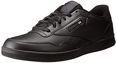 reebok black. reebok men\u0027s club memt classic sneaker black