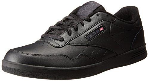 Reebok Menns Klubb Memt Klassisk Sneaker Svart / Dhg Solid Grå