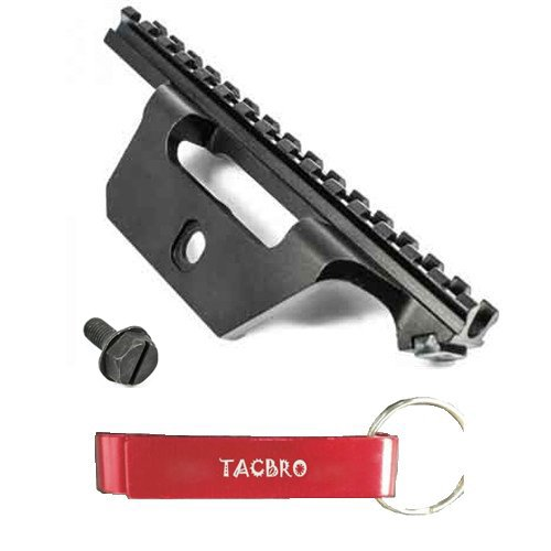 TACBRO See-Thru Scope Mount for M1A/M14 with One Free Aluminum Opener(Randomly Selected Color)