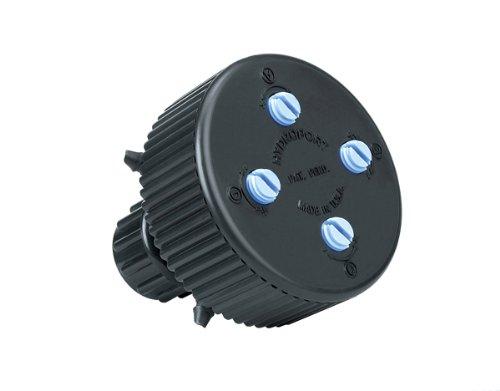 - Raindrip 13400UB Hydro-Port Adjustable 4-Outlet Manifold