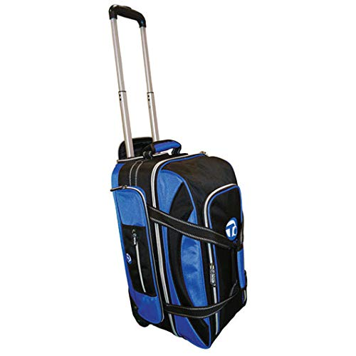 Taylor Ultimate Trolley Bag for Crown OR Flat Green Bowls 371 (Black/Blue)
