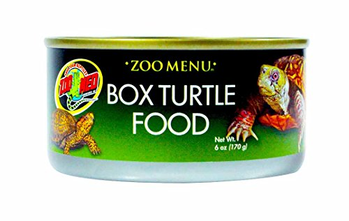Zoo Med Box Turtle Food 6 oz (Pack of 3) by Zoo Med