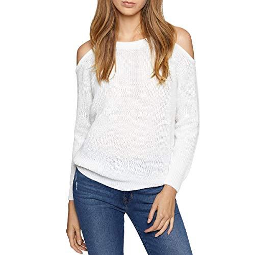 Sanctuary Cropped - Sanctuary Women's Riley Bare Shoulder Sweater Milk X-Small