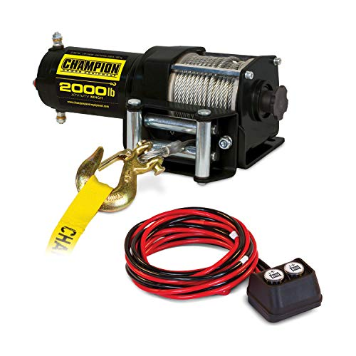 Electric Winches 12v Ac - Champion 2000-lb. ATV/UTV Winch Kit