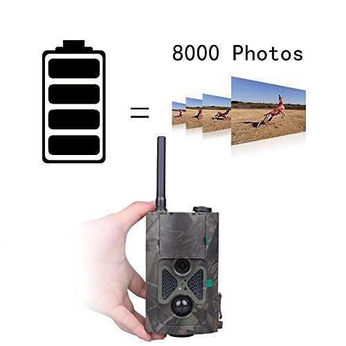 Uboway 3G Wireless Trail Camera 16MP 1080P HD with Night Version for Hunting Monitoring Game Trail Cameras