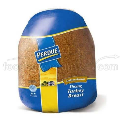 Perdue Farms Golden Browned Signature Skinless Turkey Breast, 9.5 Pound -- 2 per case.