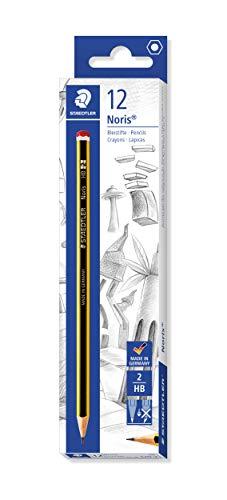 Staedtler 120-2 Noris Pencils HB (Box of 12)