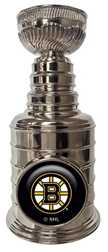 The Sports Vault NHL Boston Bruins 5062-20-1100Mini Stanley Cup Replica, Multi, One Size