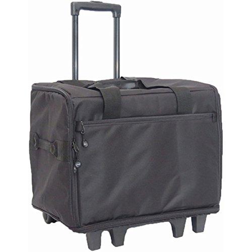 Wheeled Serger Travel Bag - Large 17x14x13-Black by Bluefig