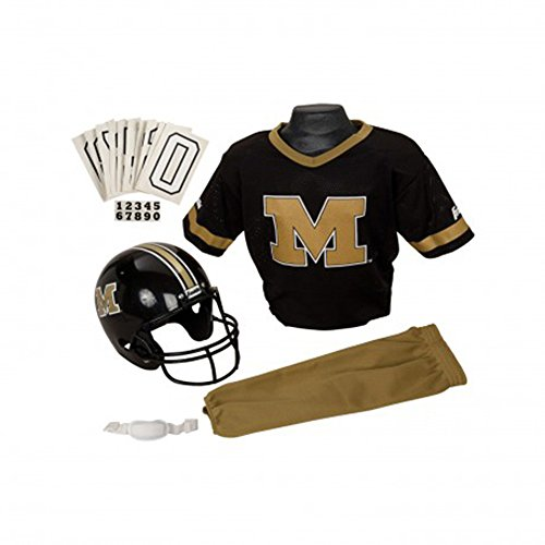 Franklin NCAA Medium Missouri Tigers Deluxe Uniform Set