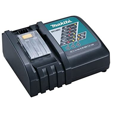 Makita DC18RC 18V Lithium-Ion Rapid Optimum Charger in Retail Package