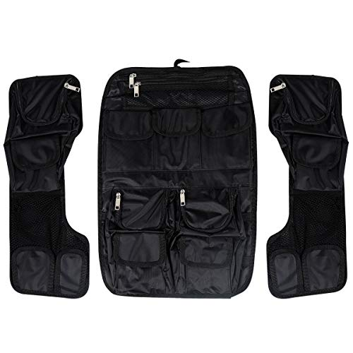 (XFMT Tour-Pak Lid Fitted Organizer Tour Pack Lid Organizer Pouch Compatible with Harley FLH/T 1999-2013)