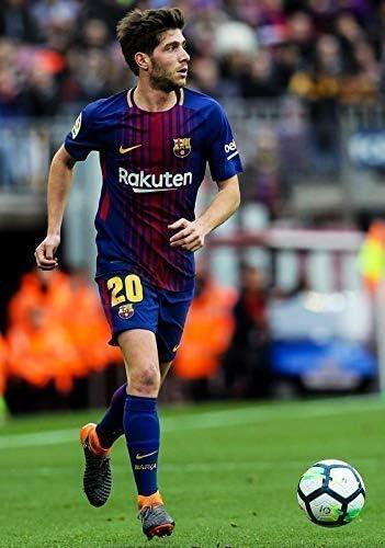 Desconocido Sergi Roberto FC Barcelona la Liga España Fútbol Póster 10992 (A3-a4-a5) - A5: Amazon.es: Hogar