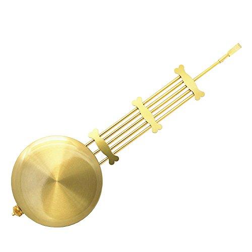 Clock Accessory Short Metal Pendulum 42g 245mm Length DIY Clock Kits (24.5cm Length)