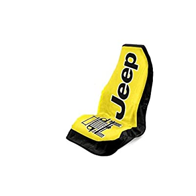 Seat Armour Universal Fit Jeep Towel-2-Go Seat Protector - Yellow: Automotive
