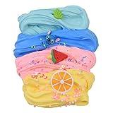 Magictoy 4 Pack Butter Slime,Yellow Lemon,Blue