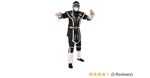 Rubies White and Black Skull Ninja Costume, Small