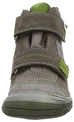 Richter Kinderschuhe Linz, Jungen Hohe Sneakers Grau (pebble/cactus  6611)